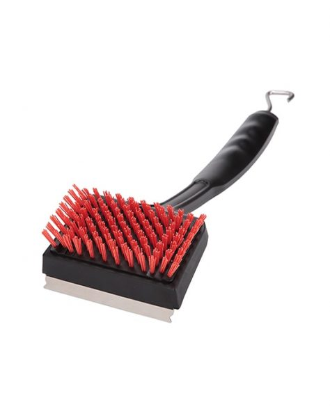 red grill brush