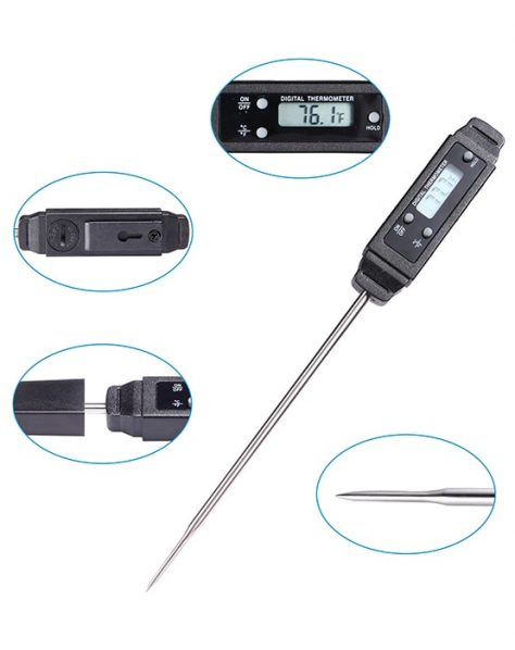 meat thermometer detail