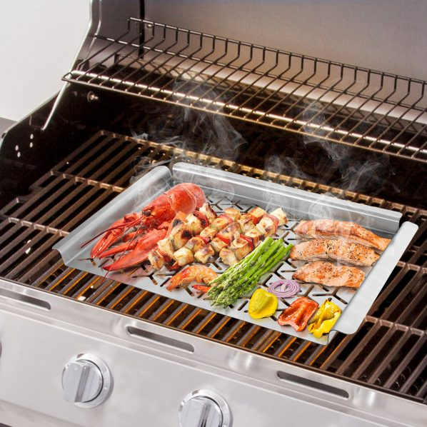 Unicook Stainless Steel Grill Topper Unicook
